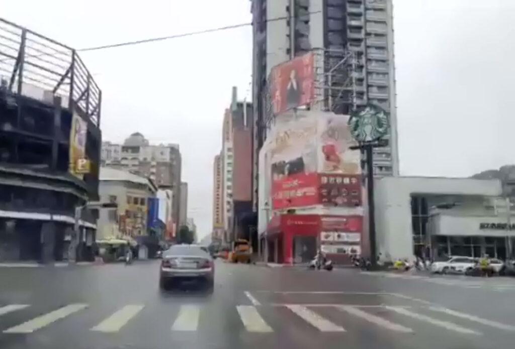 台湾の街並み画像
