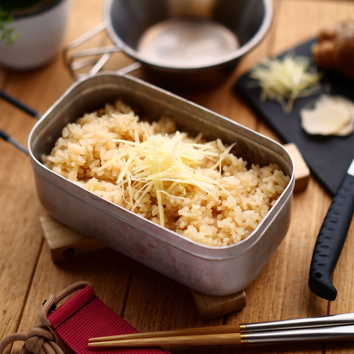 「生姜好きにおすすめ!W生姜の炊き込みご飯」画像
